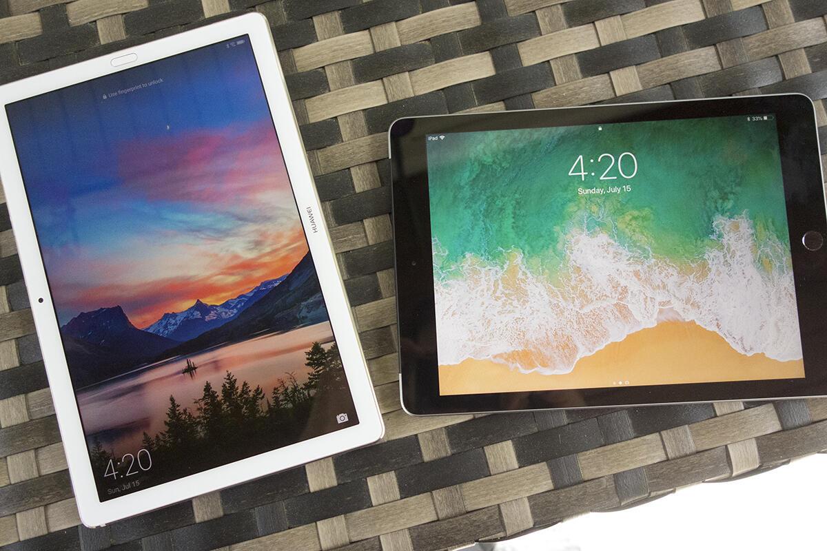 Huawei MediaPad M5 Pro vs. Apple iPad: A premium Android ...