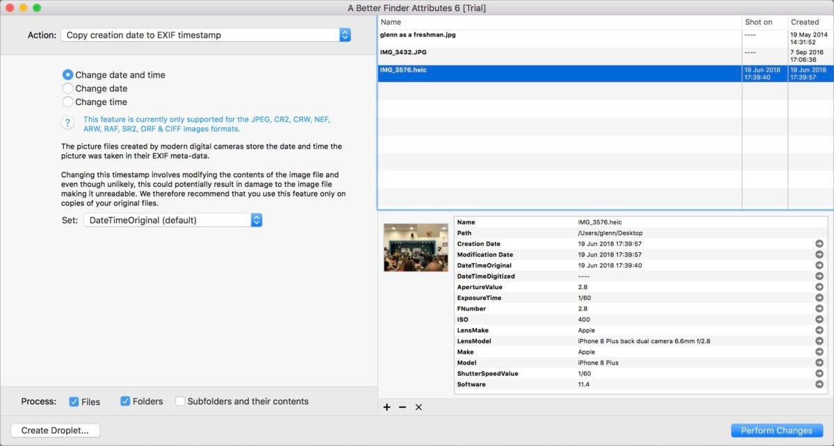 mac911 using better finder attributes