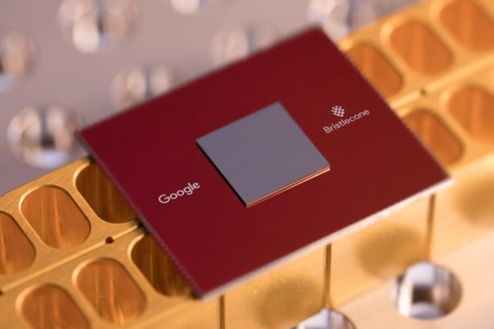 meet the bristlecone chip googles 72 qubit quantum computer chip