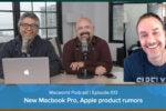 New MacBook Pro laptops, Apple product rumors