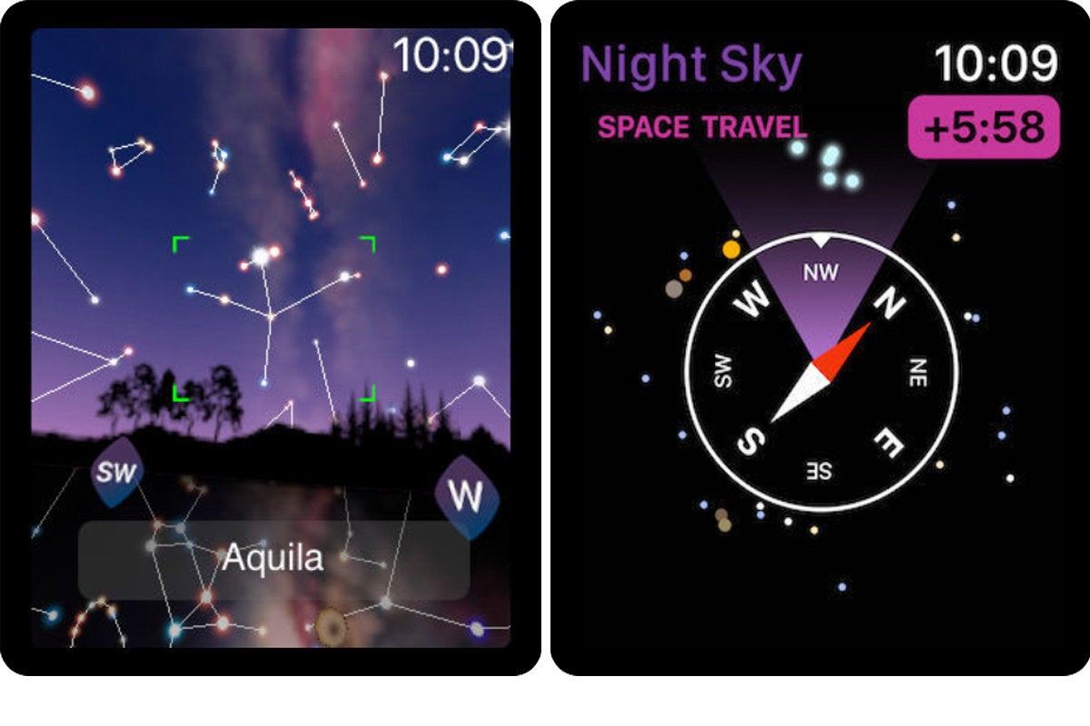 night sky apple watch