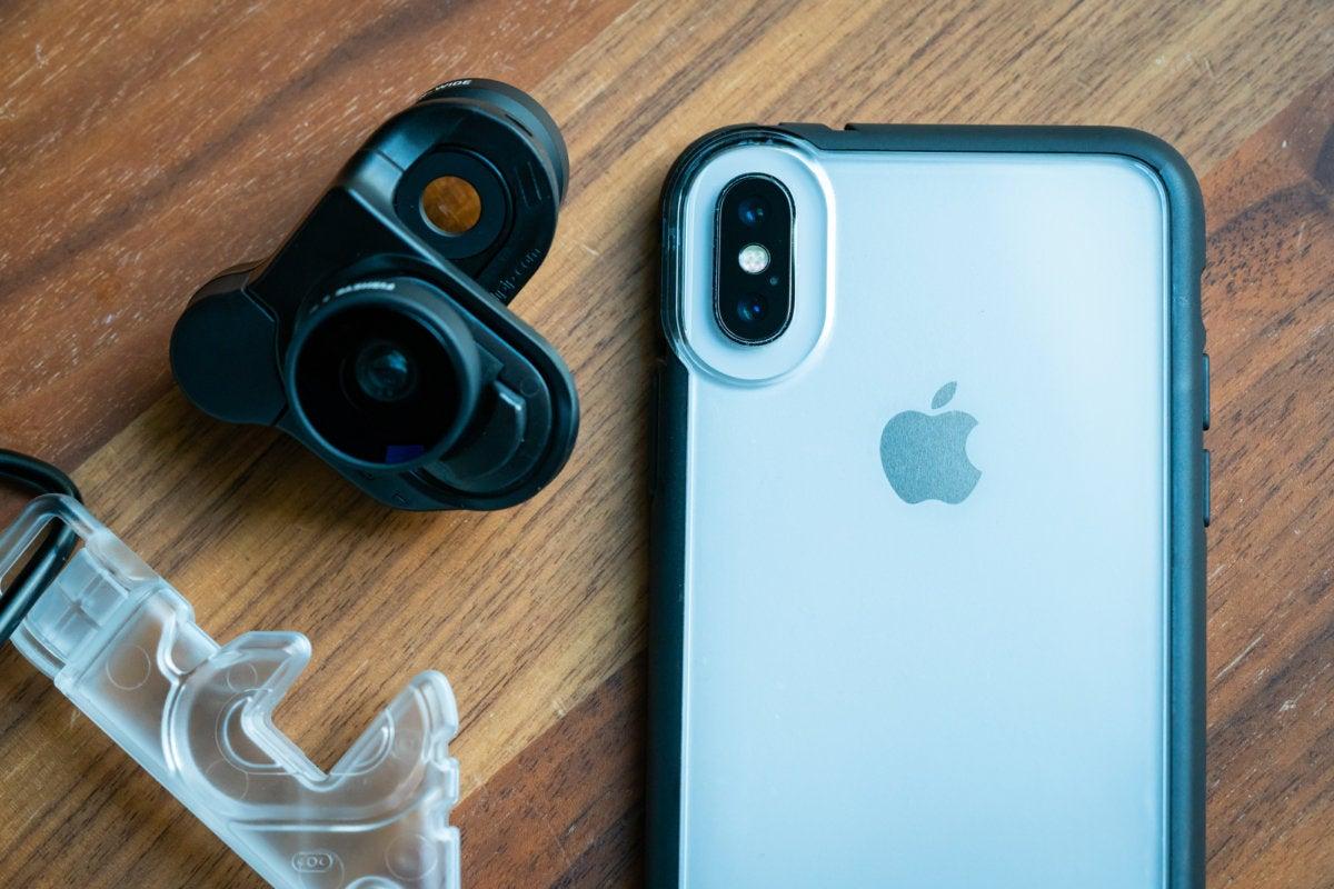 Olloclip iPhone X case