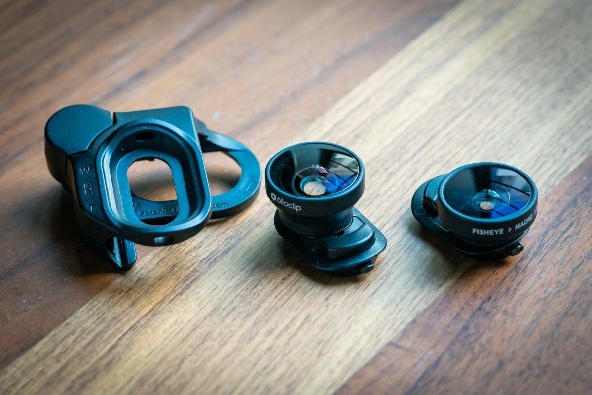 Olloclip iPhone X lenses