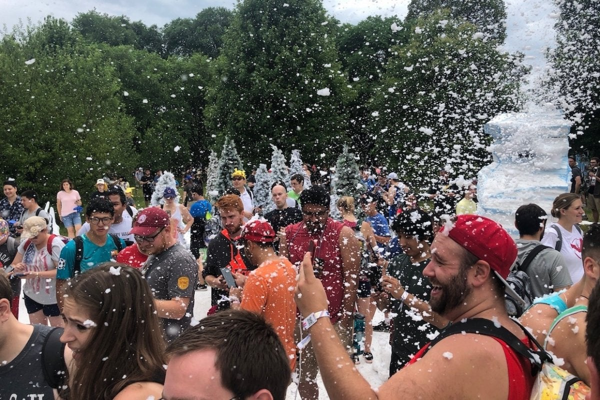 Pokémon Go Fest 2018 made up for last year's disastrous debut | Macworld