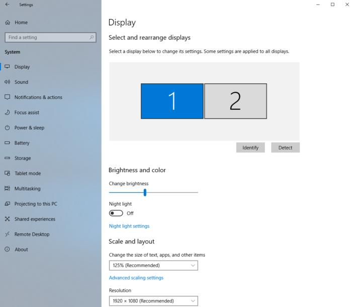 Use Windows 10's individual display scaling to perfect your