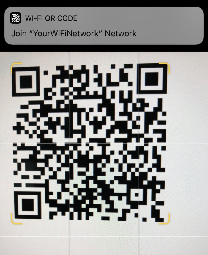 how to scan qr code with iphone how to scan qr codes with your iphone or macworld 3185