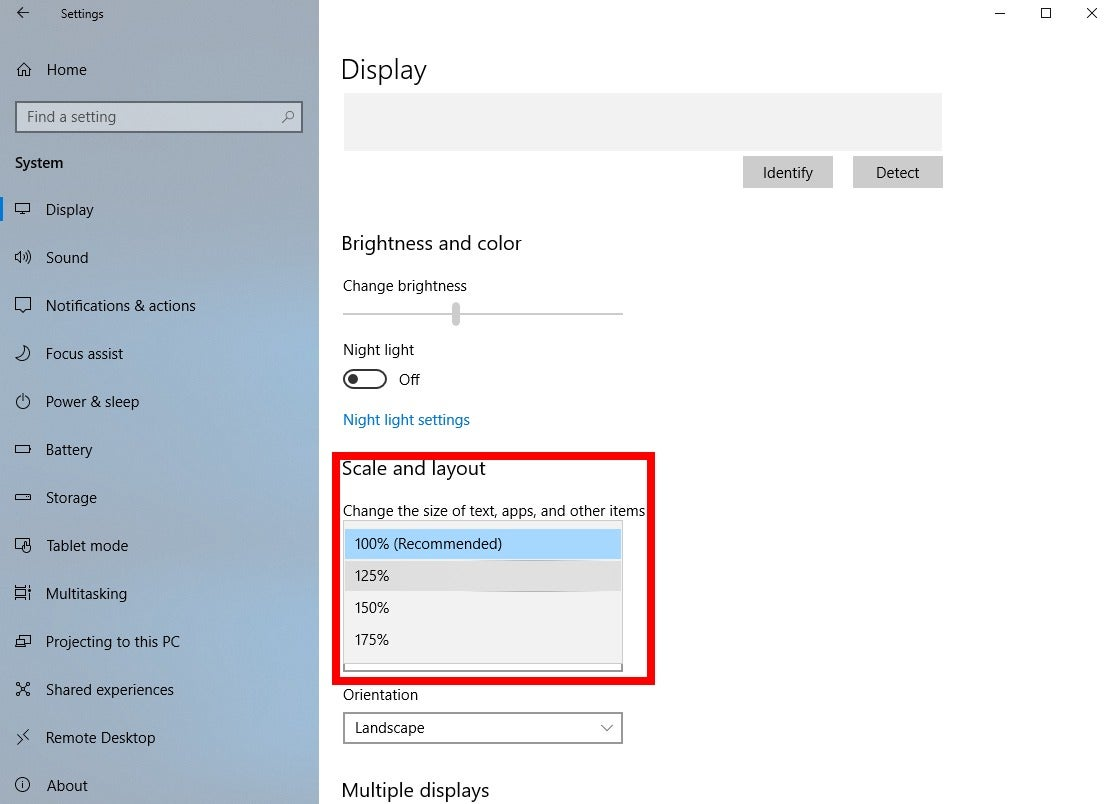 Use Windows 10's individual display scaling to perfect ...