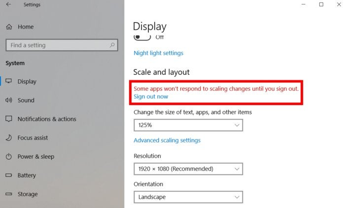 Use Windows 10's individual display scaling to perfect your multi