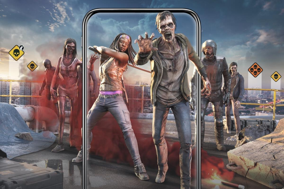 The Walking Dead: Our World is Pokémon Go with AR zombies ...