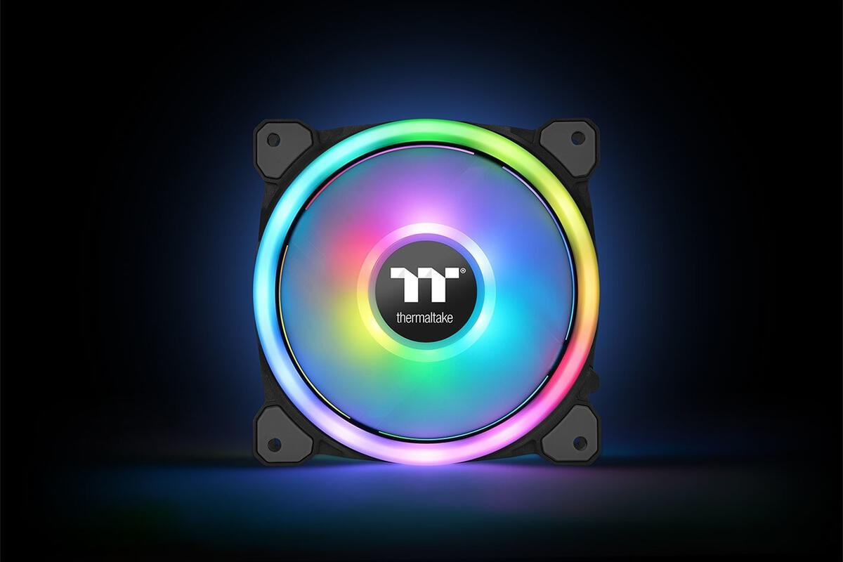 Thermaltake's Riing 12 Trio RGB Fans Can Be Voice-controlled with Amazon's Alexa