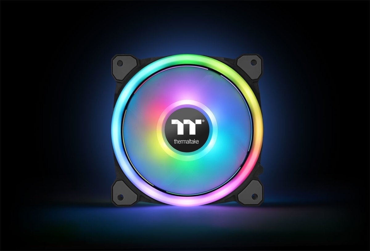 Thermaltake's Riing 12 Trio RGB fans can be voice-controlled