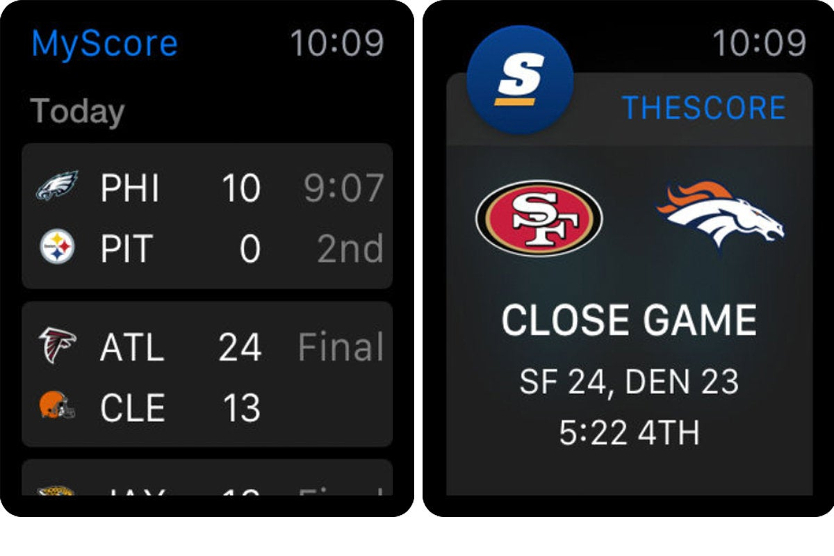 thescore apple watch