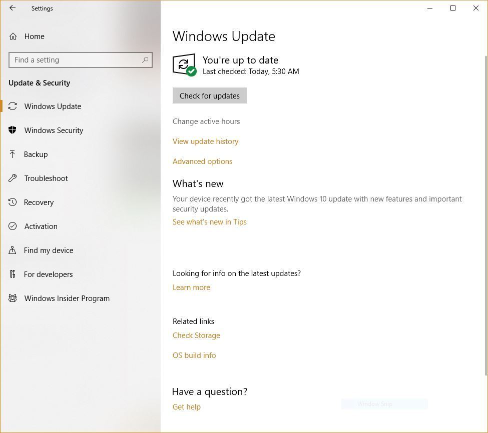 cant enable automatic updates windows 10
