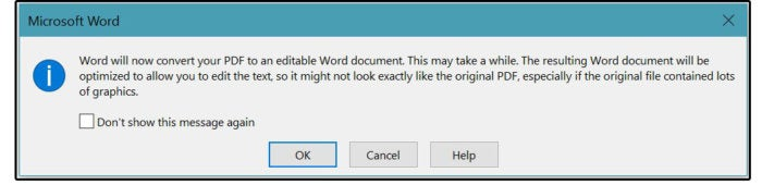 02b convert to word dialog box