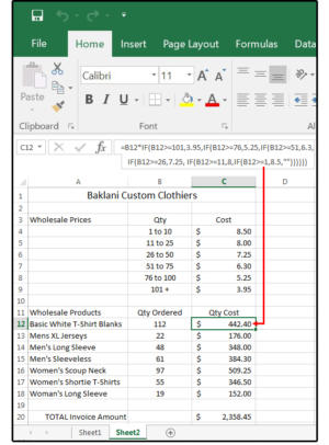 07b calculate product prices based on quantity