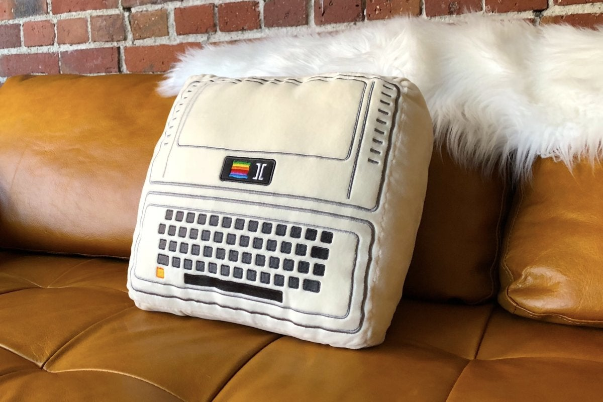1977 Apple II pillow