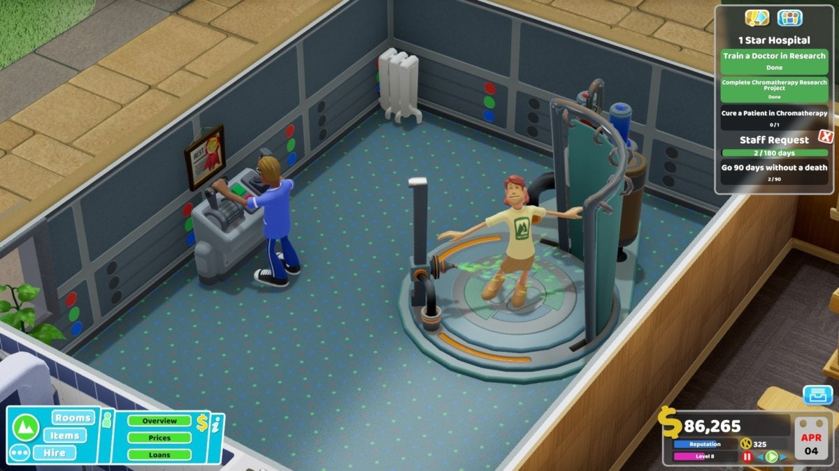 Two Point Hospital review: A better Theme Hospital for the