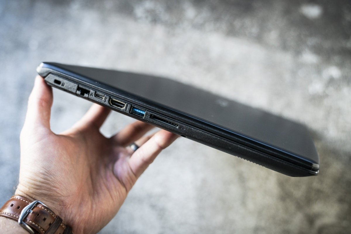 acer aspire 5 left side