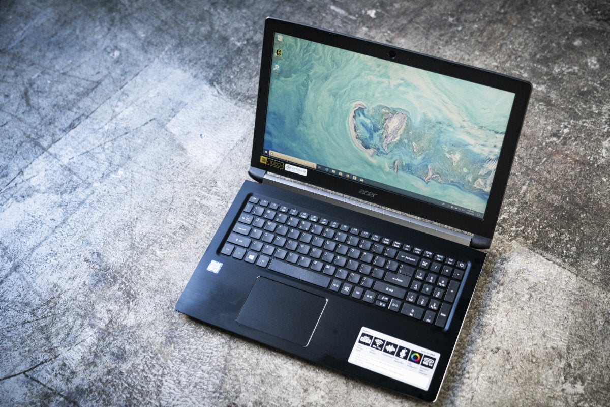 acer aspire 5 a515 51 58hd review optane memory gives this budget laptop a boost pcworld. Black Bedroom Furniture Sets. Home Design Ideas