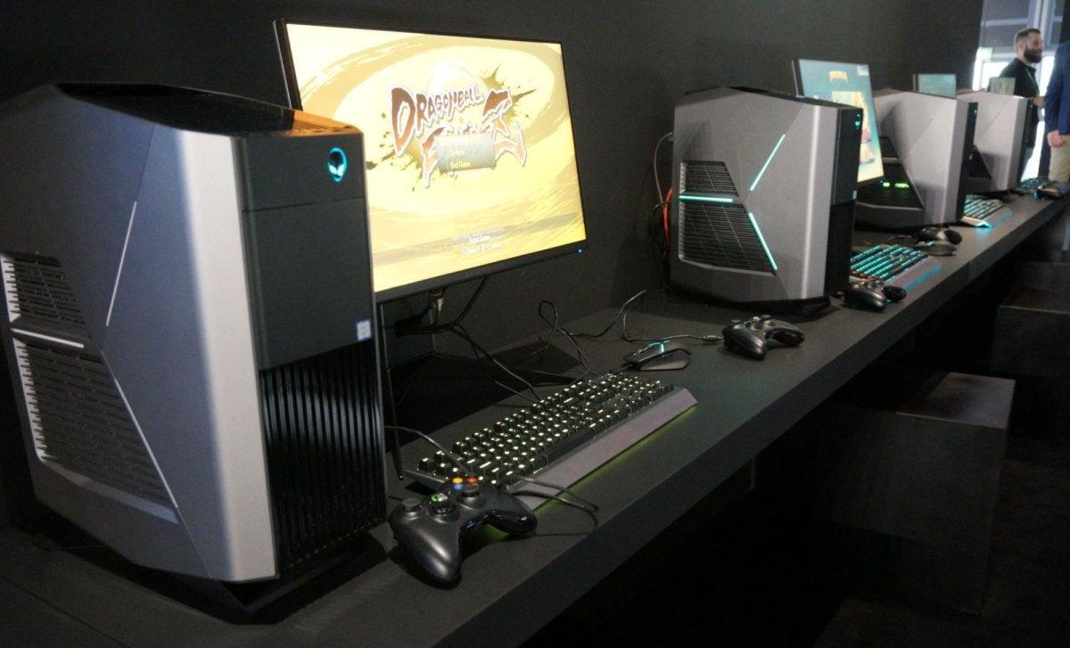 alienware desktops