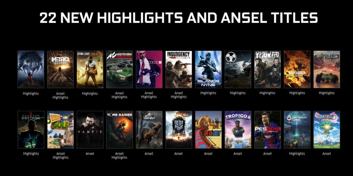 ansel new games