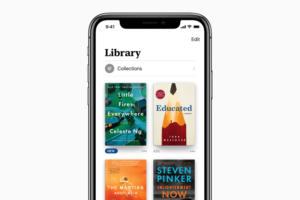 apple books library 2018