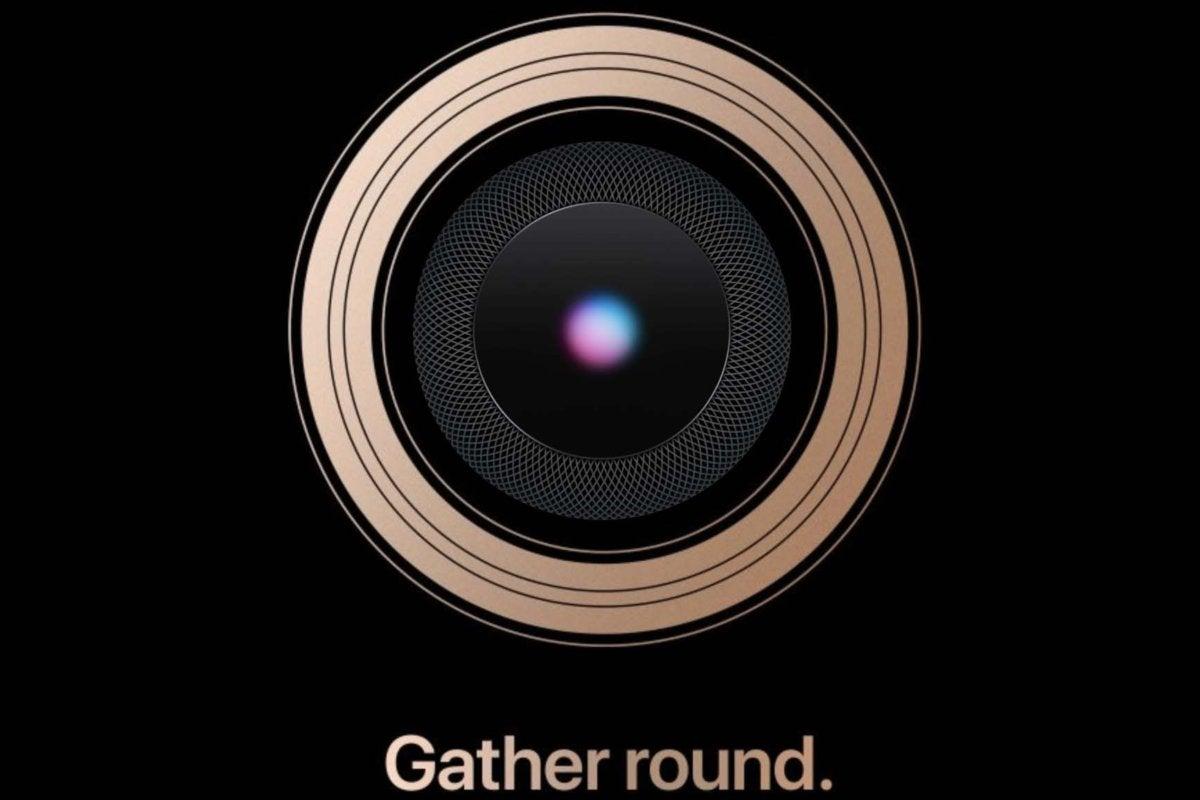 apple round homepod