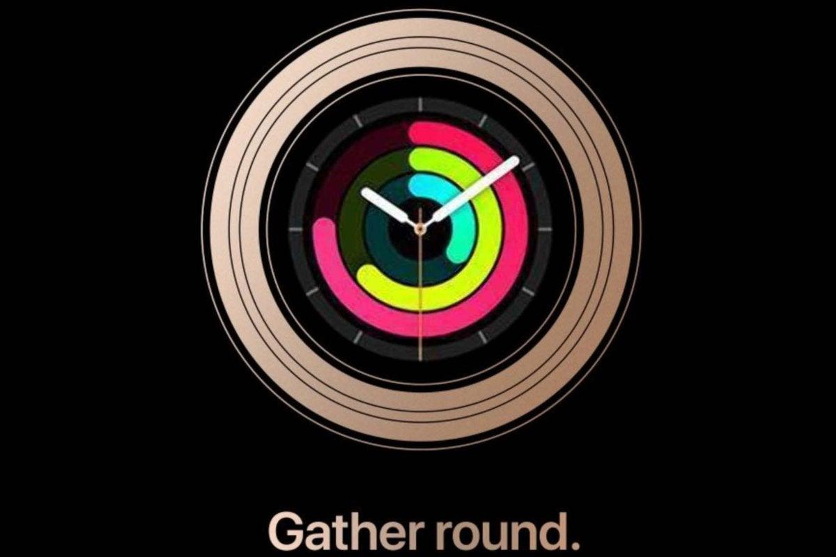 apple round watch