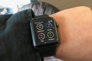 apple watch myfitnesspal