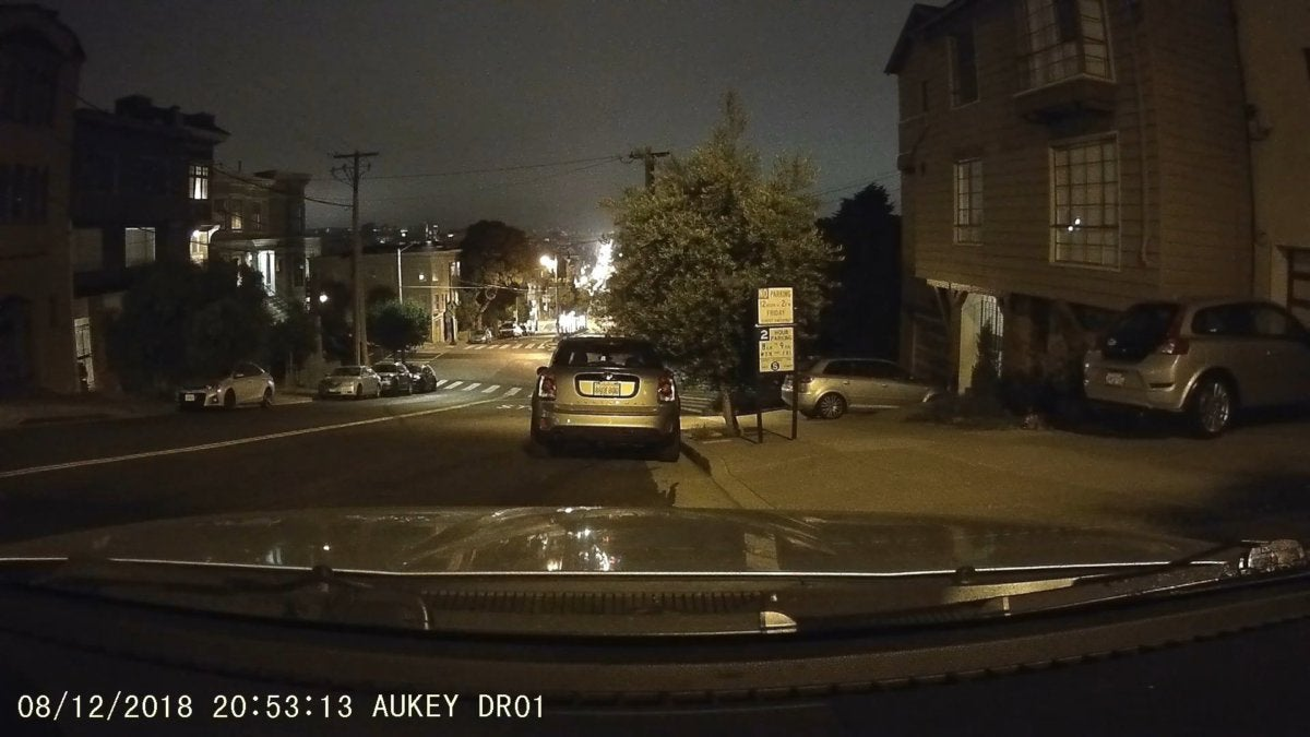 aukey dr01 nighttime