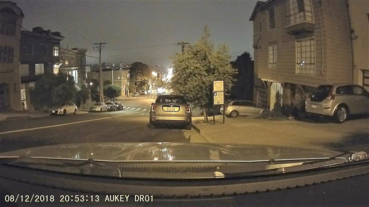aukey dr01 nighttime brighter