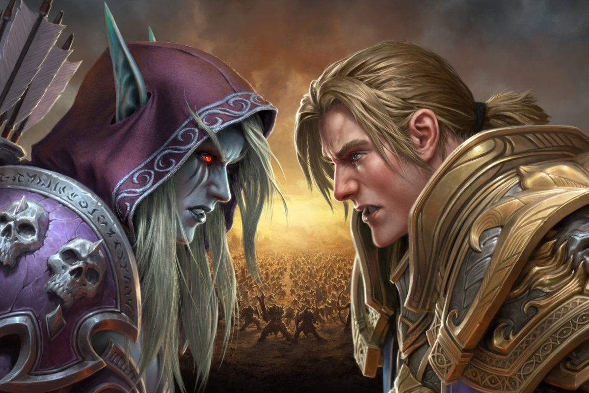 battle for azeroth key art