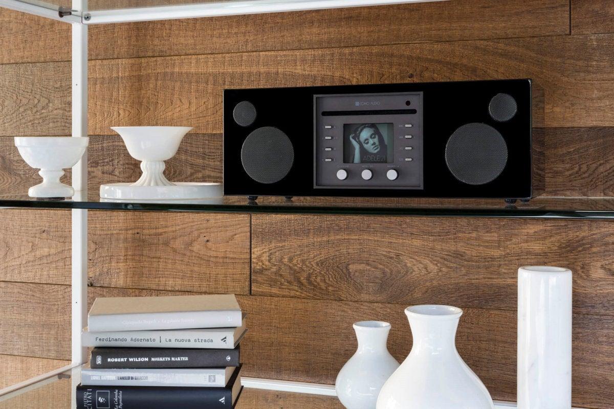 como audio musica on shelf