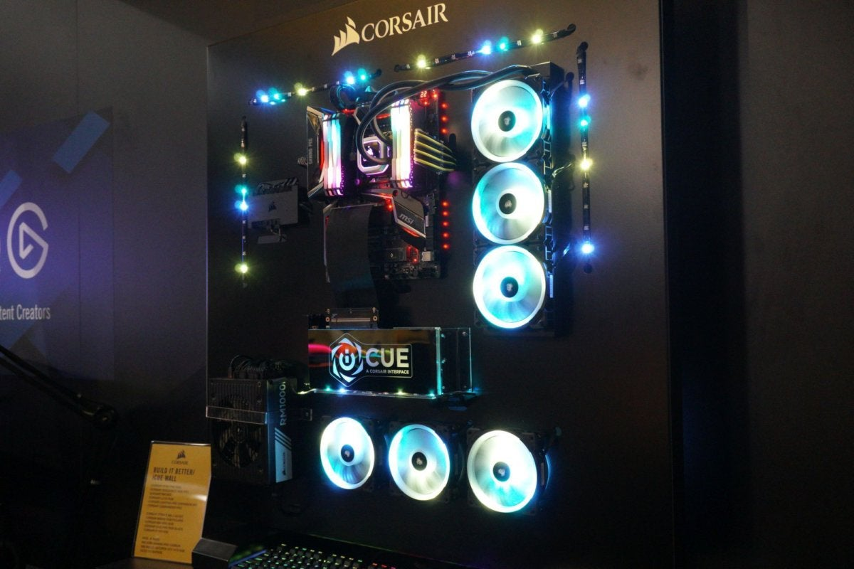 corsair wall computer cure