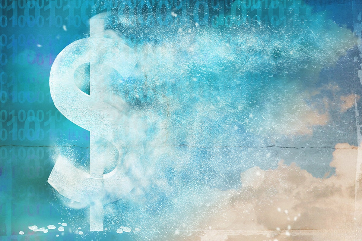 cost cloud computing dollar sign hidden costs