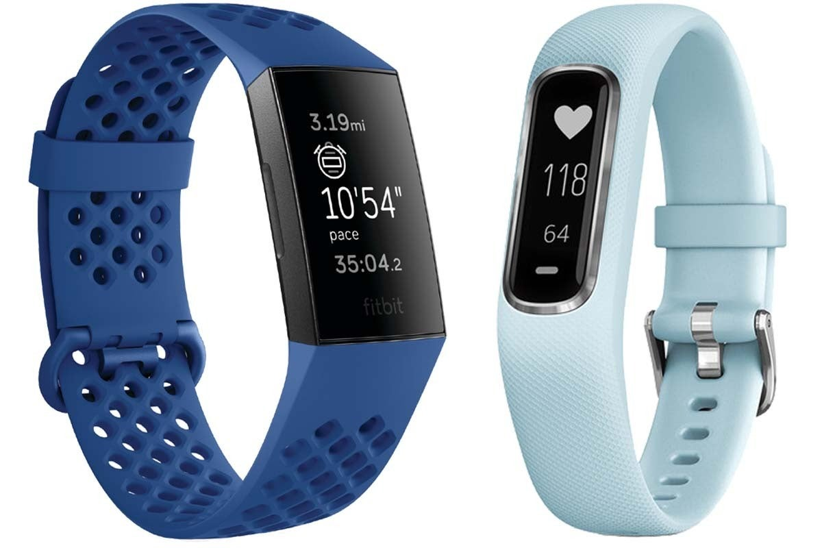 Garmin Vivosmart 4 Vs Fitbit Charge 3 Design Specs Smarts And Hr Medium Purple More Macworld