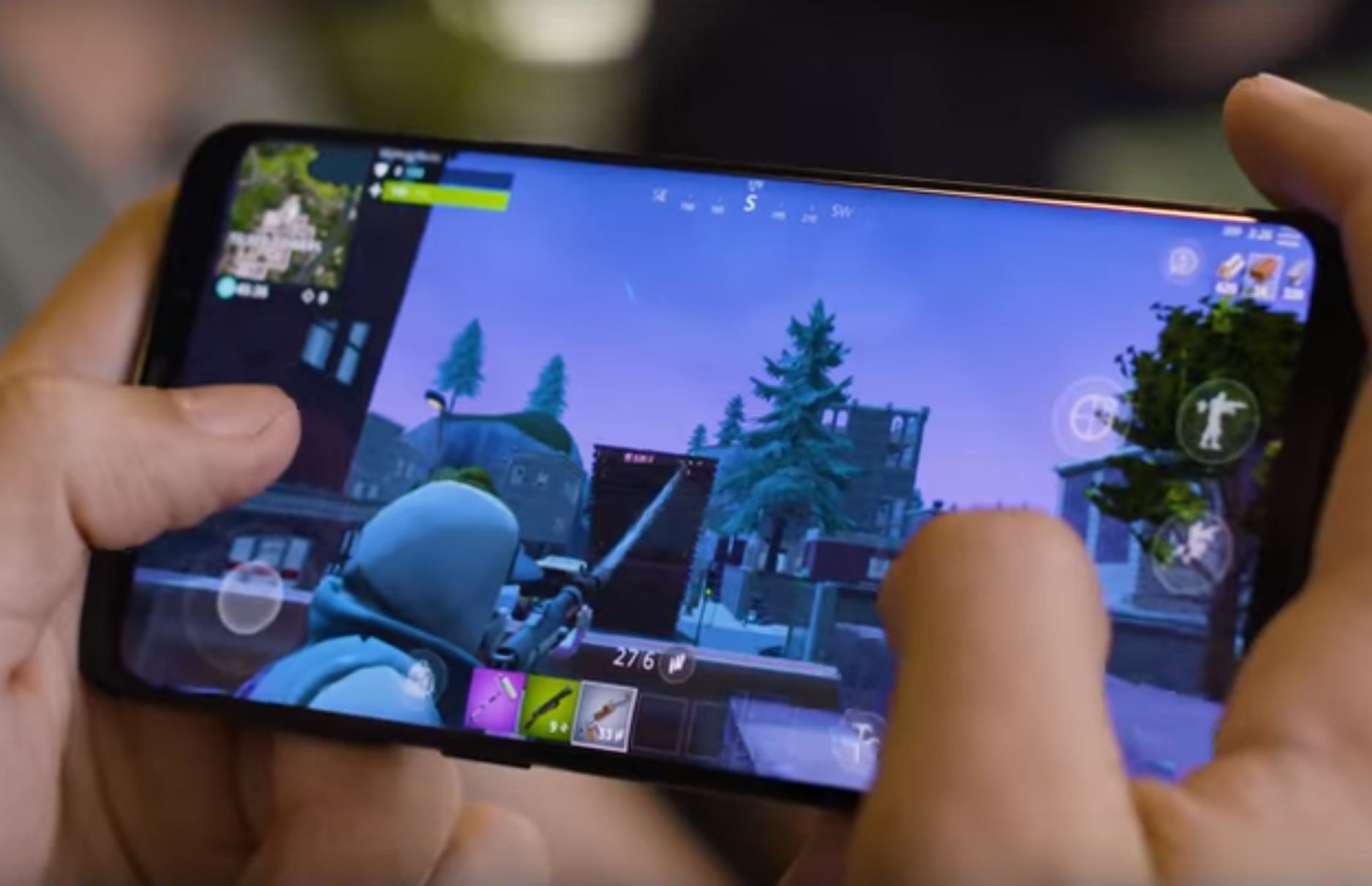 how to give code for fortnite mobile