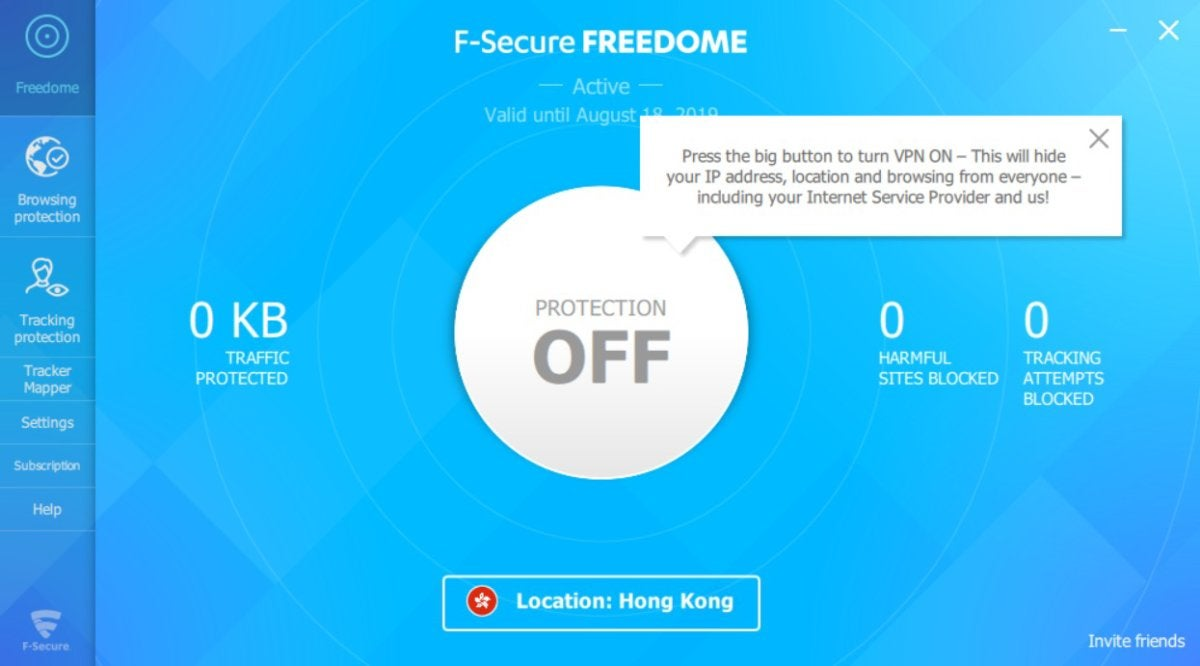 F-Secure Freedome Review