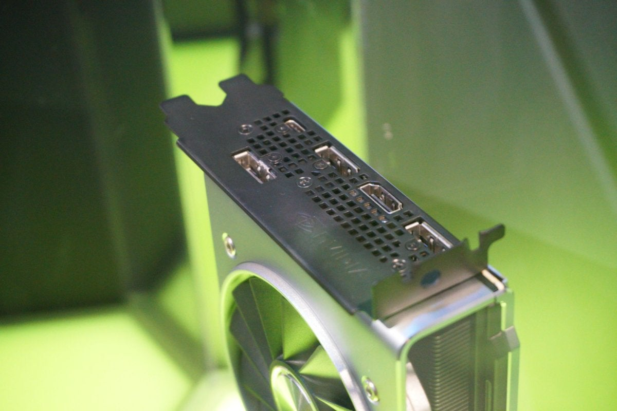 geforce rtx 2080 ti connectors