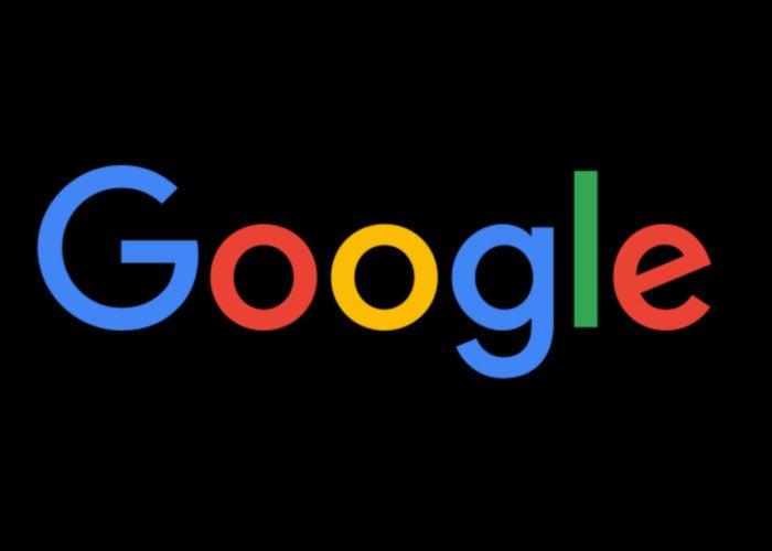 google logo black