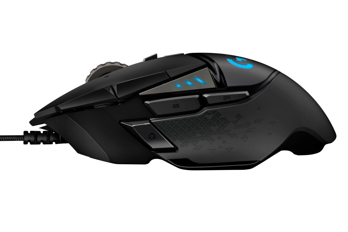 high resolution logitech g502 hero left profile edited
