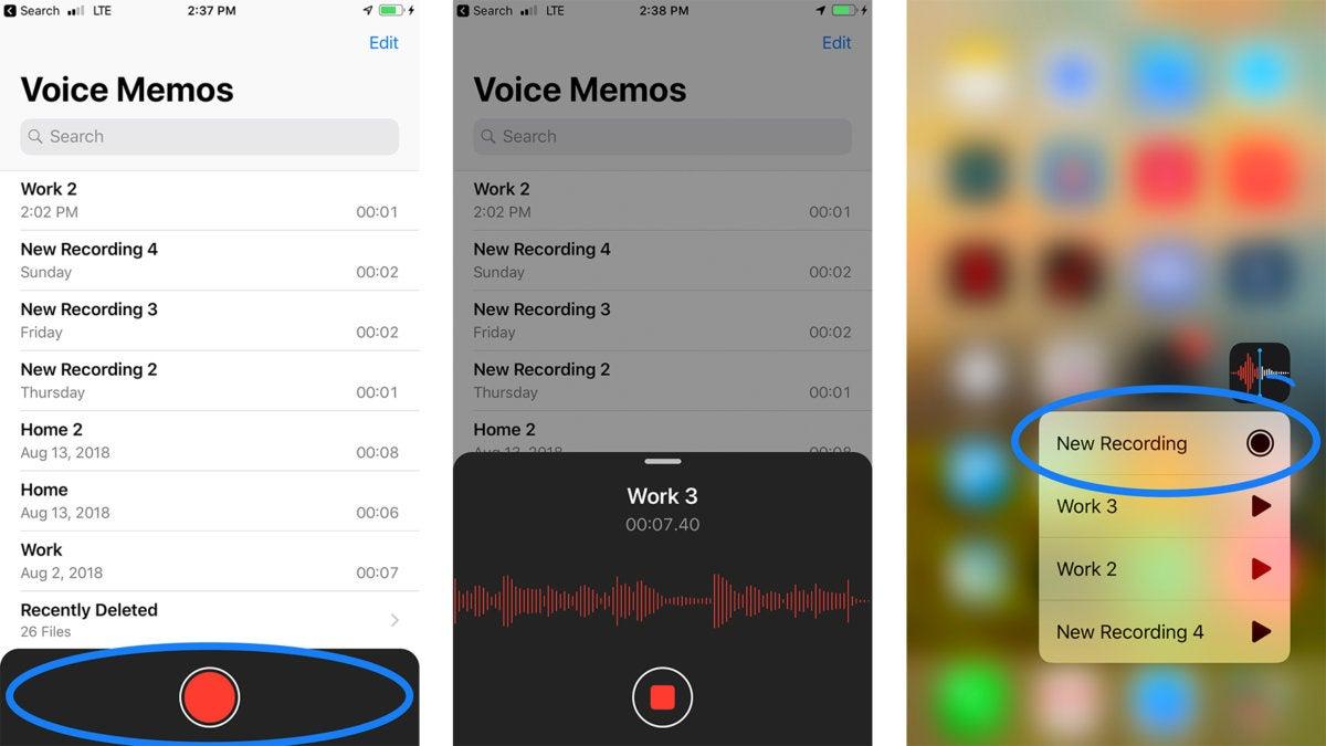ios12 voice memo iphone 7 plus