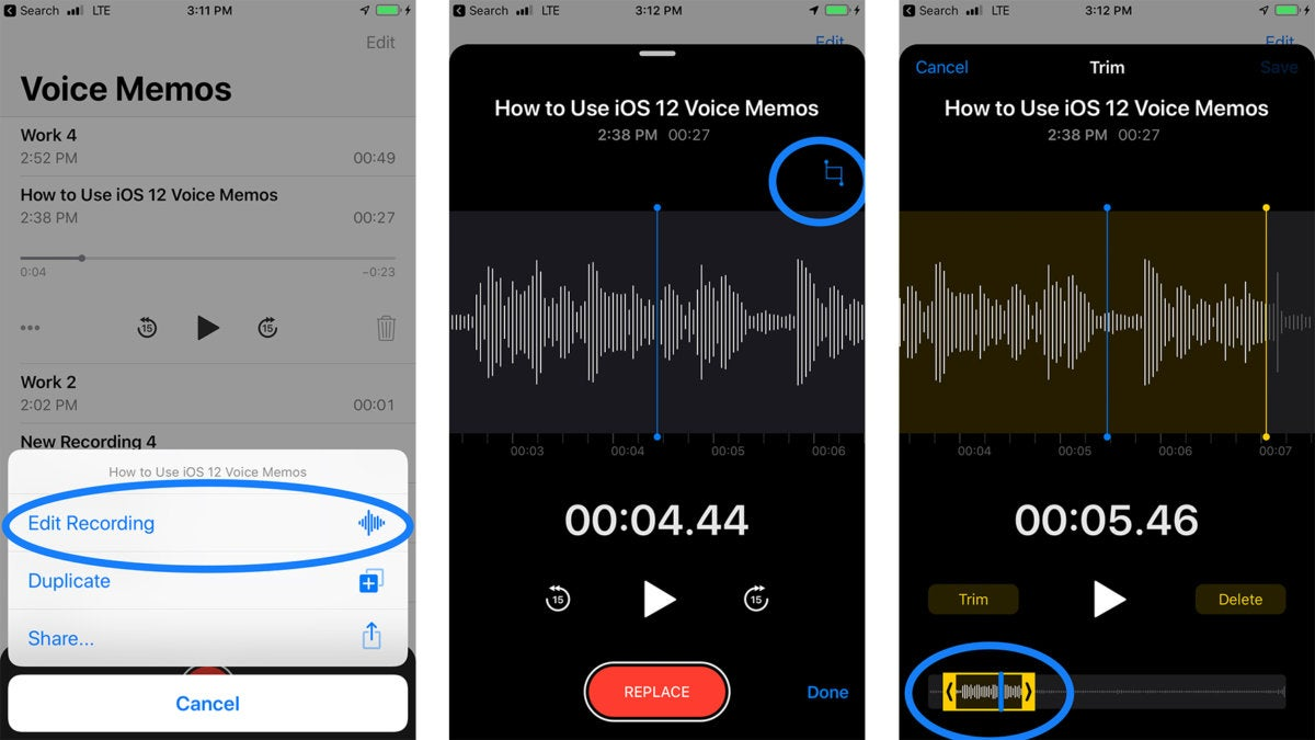 iOS 12: How to use the new Voice Memos app | Macworld