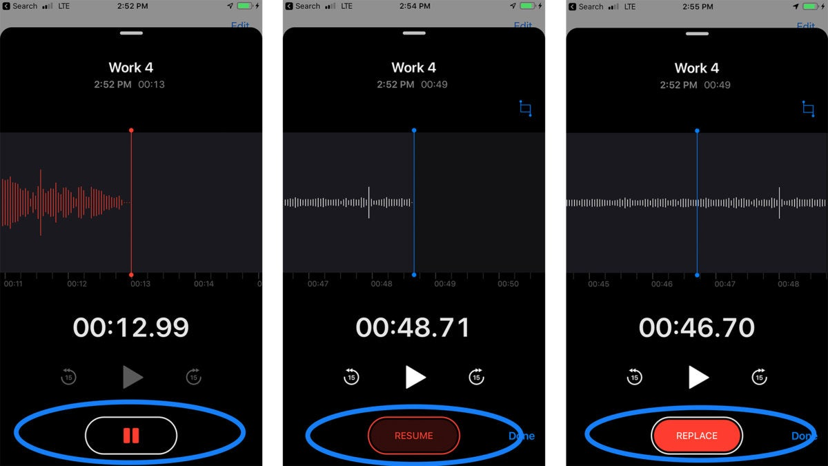 iphone voice memo ios 12 how to use the new voice memos app macworld 12445