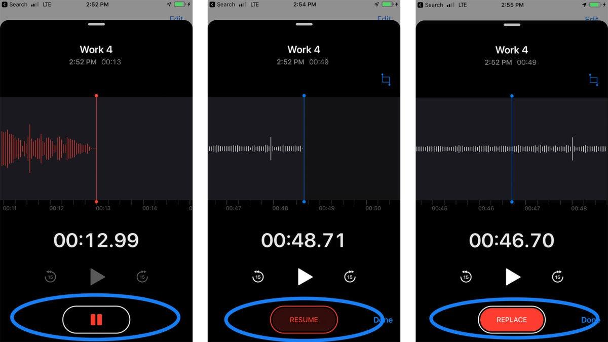 ios12 voice memos iphone 7 plus
