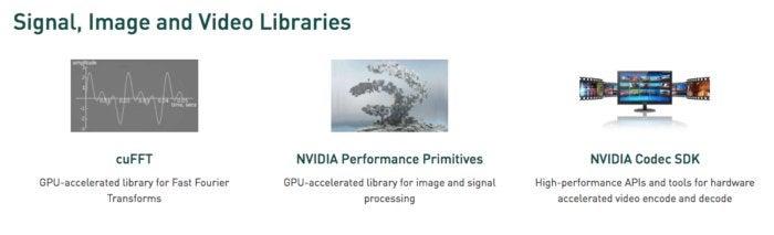 nvidia signal libraries