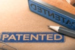 patent stamp rubber stamp patented idea pencil paper clip