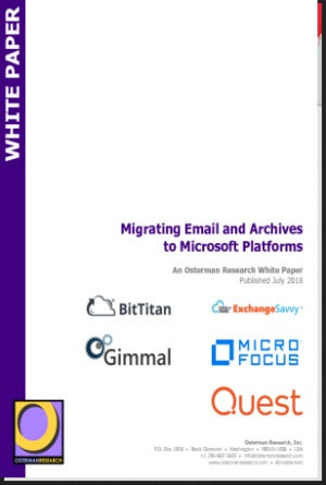 Migrating Email and Archives to Microsoft Platforms