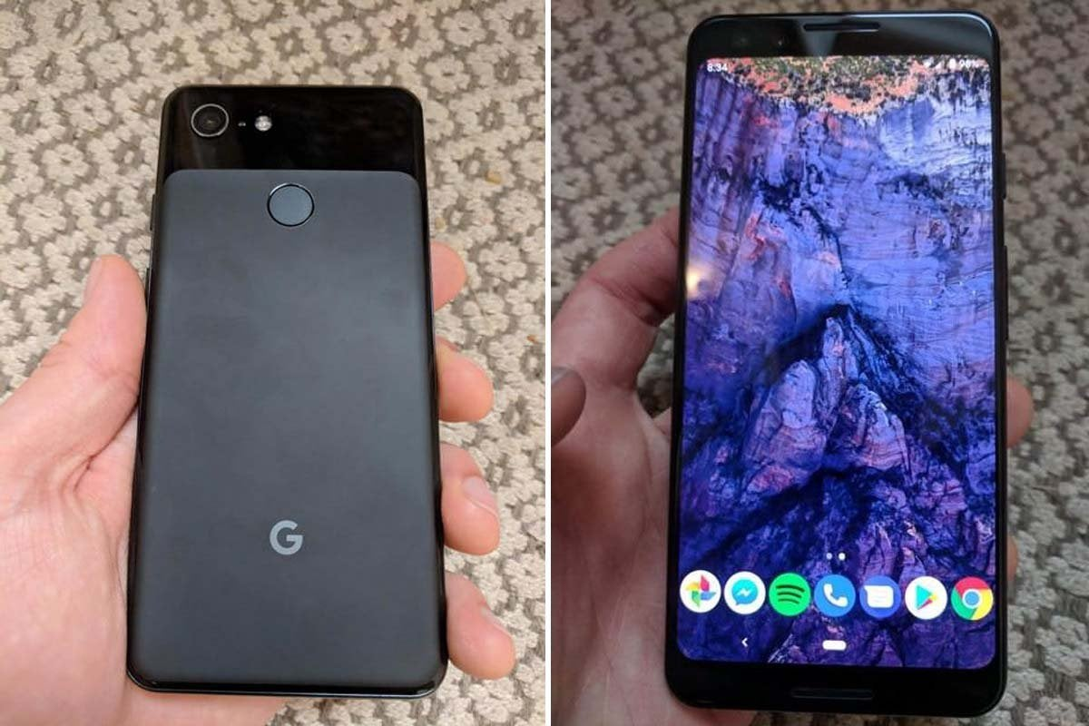 pixel 3 leak photos