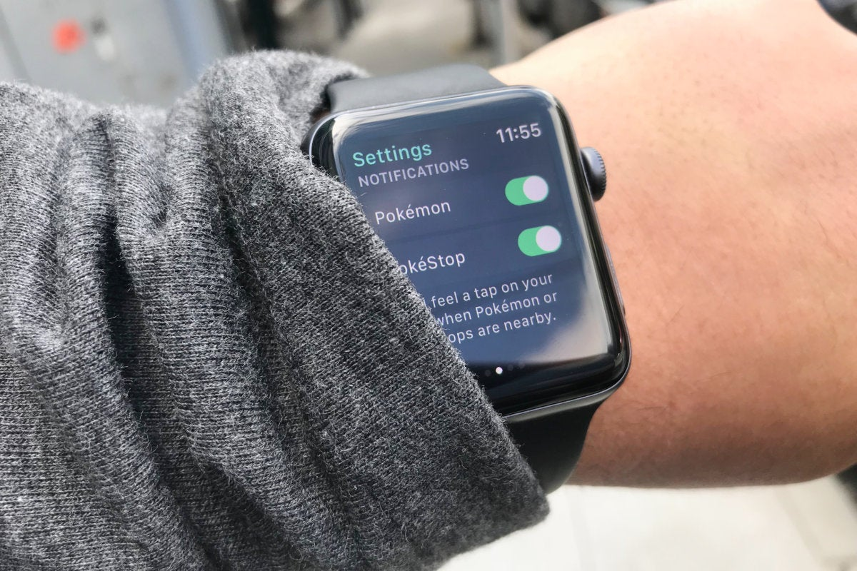 pokemon go apple watch notifications